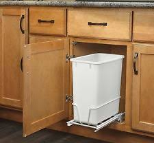 Kitchen Cabinet Waste Bins by Pull Out Trash Can Ebay