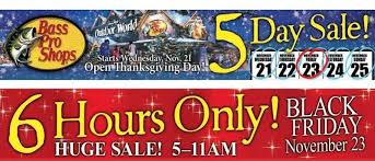 bass pro shops black friday 2012 ad scan and deals part 1 free s