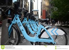 Divvy Bike Map Chicago by Divvy Bike Rental Station In Downtown Chicago Editorial Photo