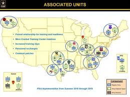 louisiana map fort polk pilot program links reserve components with active units for
