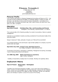 Resume For Professional Job by Filomena Fernandes Cv Docx Intern 1