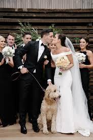 fun black tie warehouse wedding in melbourne ruffled