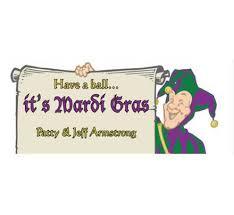 mardi gras banner mardi gras jester theme banner