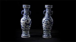 Chinese Vases Uk Bbc A History Of The World Object The David Vases