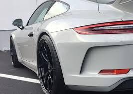 wheels porsche 911 gt3 2018 porsche 911 gt3 gets hre wheels and grp exhaust