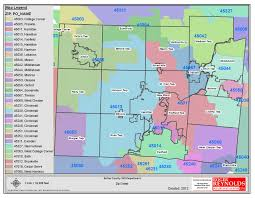 Zip Code Maps by Butler County Oh U003e Departments U003e Gis Maps U003e Map Gallery