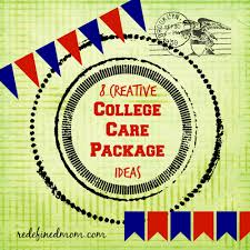 College Care Package Creative College Care Package Ideas