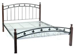 black cast iron bed frame iron beds iceland wrought iron double