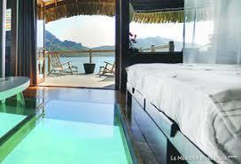chambre sur pilotis combiné 3 îles en polynésie en hôtels 4 et 5 étoiles verychic