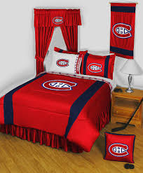 chambre canadien de montreal nhl montreal canadiens bedding and room decorations moderne