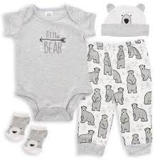 baby essentials baby essentials 4 layette set boy ideal baby