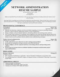 Entry Level Business Administration Resume Network Administrator Resume Sample Jennywashere Com