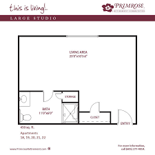 apartment sizes and floor plans for aberdeen sd primrose
