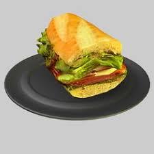 models cuisine 3d cuisine 3d crispy chicken low poly food model uv