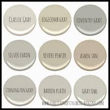 Interior House Colors benjamin moore u0027s best selling grays evolution of style