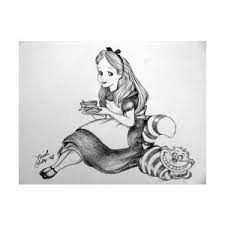 study fun making alice wonderland coloring pages