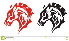ferrari horse tattoo logo black horse stock photos royalty free images