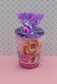 paw patrol girls birthday party pre filled favors bailey u0027s 1st