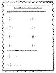 go math practice 4th grade 8 1 multiples of unit fractions