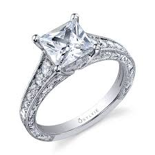 engagement rings cut images Princess cut engagement ring jpg
