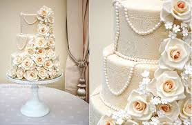 edible wedding cake decorations edible lace wedding cakes cake magazine