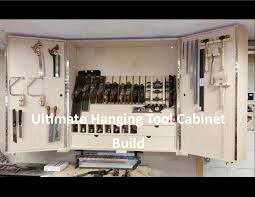 Wood Tool Storage Cabinets Ultimate Hanging Tool Cabinet Pt 1 Youtube