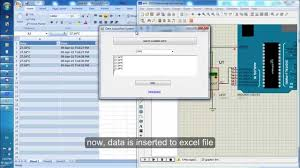 print to excel file save temperature sensor data from arduino to excel file youtube
