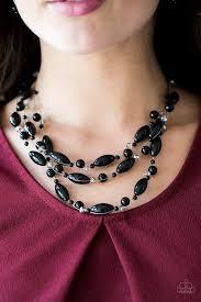 bride necklace images Paparazzi necklace happy is the bride black debs jewelry shop jpg