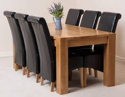 Solid Oak Dining Room Furniture by Kuba Solid Oak Dining Table With 6 Or 8 Montana Chairs Available