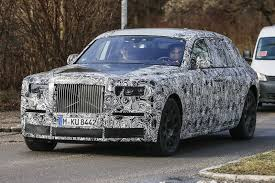 phantom roll royce rolls royce phantom successor first spy shots gtspirit