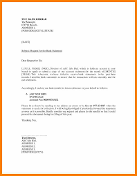 Request Letter Of Bank Statement 9 statement request letter retail resumes