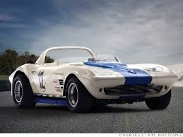 1963 grand sport 10 most valuable corvettes cnnmoney