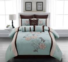 brown comforter king coral bedding sets queen size bed sets