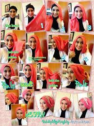 tutorial makeup natural hijab pesta hijab tutorial pashmina pesta islamic fashion pinterest gaya
