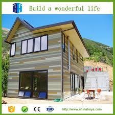 heya superior quality prefab modern house made in china quality