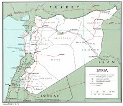 Maps Syria by Nationmaster Maps Of Syria 19 In Total