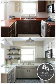 cheap kitchen makeover ideas before and after kitchen makeovers before and after home interiror and exteriro
