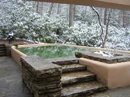 Winter House Fallingwater Pictures Winter Photos Of House On Waterfall Frank