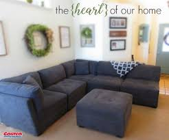 costco sleeper sofa the heart of our home is our living room our new 6 piece