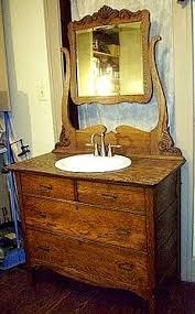 Refurbish Bathroom Vanity Best 25 Antique Bathroom Vanities Ideas On Pinterest Vintage