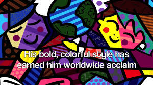romero britto romero britto pop art youtube