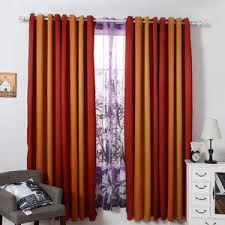 Orange Thermal Curtains Orange Curtains Orange Sheer Curtains Orange Patterned Curtains