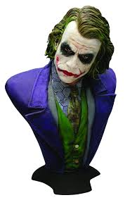 Dark Knight Joker Halloween Costume Oct101611 Dark Knight Returns Joker Full Size Bust Previews World
