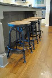 kitchen island with barstools fixer upper yours mine ours and a home on the river joanna
