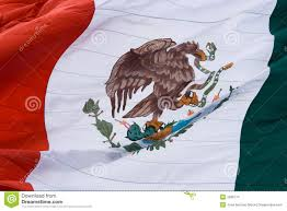 Mexican Flag Eagle Mexican Flag Close Up Stock Photo Image Of Raised Government