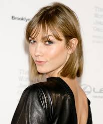 blunt cuts for fine hair karlie kloss fake thickness and volume with the best haircuts for