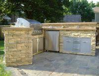 cheap outdoor kitchen ideas diy outdoor kitchen cabinets cullmandc