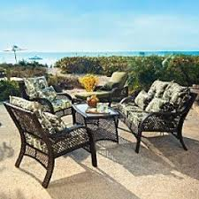 Outdoor Furniture Wicker Resin by Wicker Deep Seating Patio Furniture Foter