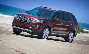 ford jeep 2016 price 2016 ford explorer first drive u2013 review u2013 car and driver