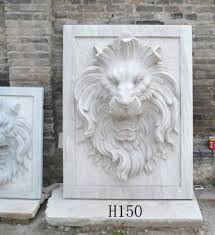 marble lions lion s sculpture european wall sculpture marble